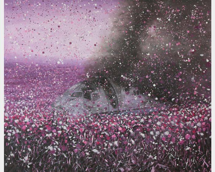趙博-在那鮮花盛開的地方-2號 Flowers Blooming–No.2