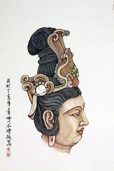 介濤-唐式菩薩儀相
