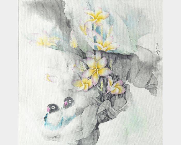 劉蓉鶯-湛然(雞蛋花)