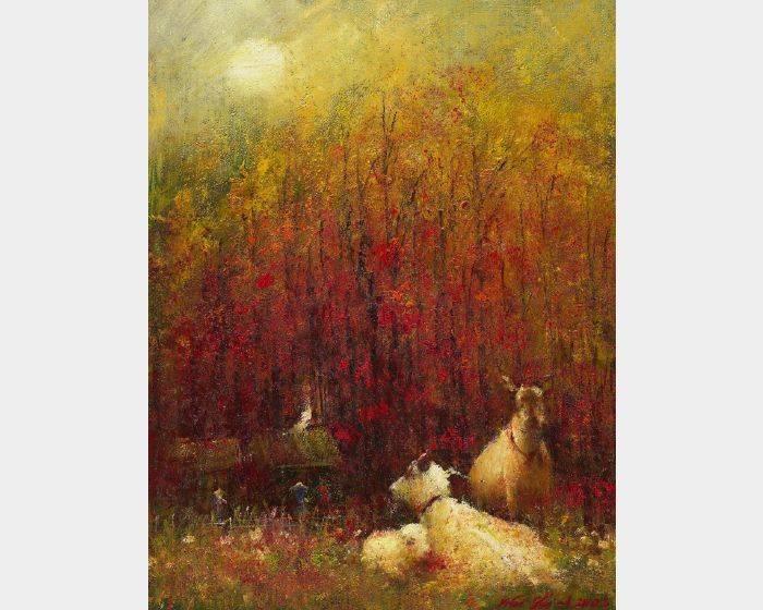 韋啟義-三羊開泰
