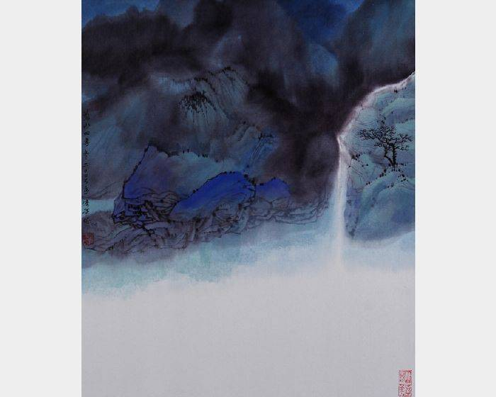 于傳騏-藍山四季 冬
