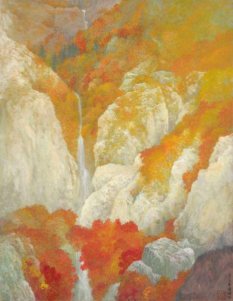 于傳騏-秋晴幽壑