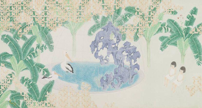 葉采薇-鳥籠