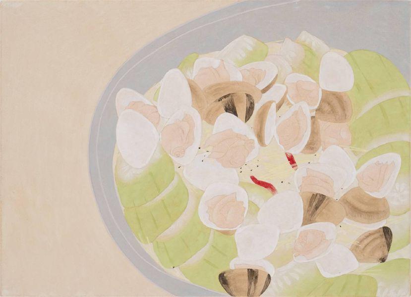 葉采薇-蛤蠣絲瓜