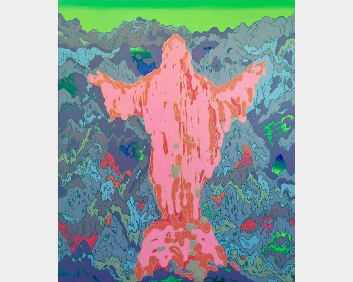 張騰遠-Overlapping –聖像 Overlapping – Saint Statue