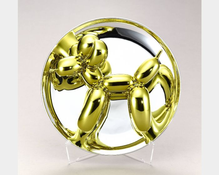 傑夫坤斯-Balloon Dog (Yellow) 氣球狗 (黃金)