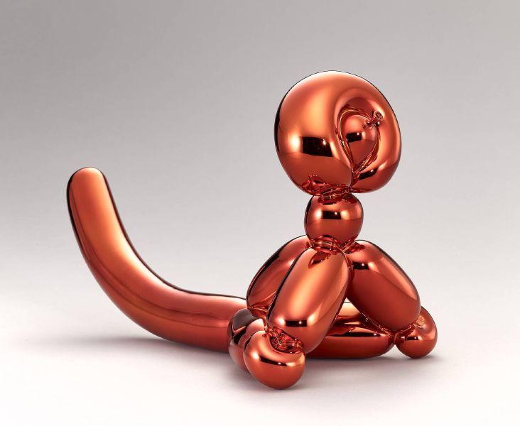 傑夫昆斯-Balloon Monkey 氣球猴子(橘色)