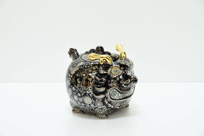 洪易-九龍茶罐 動力龍 平裝