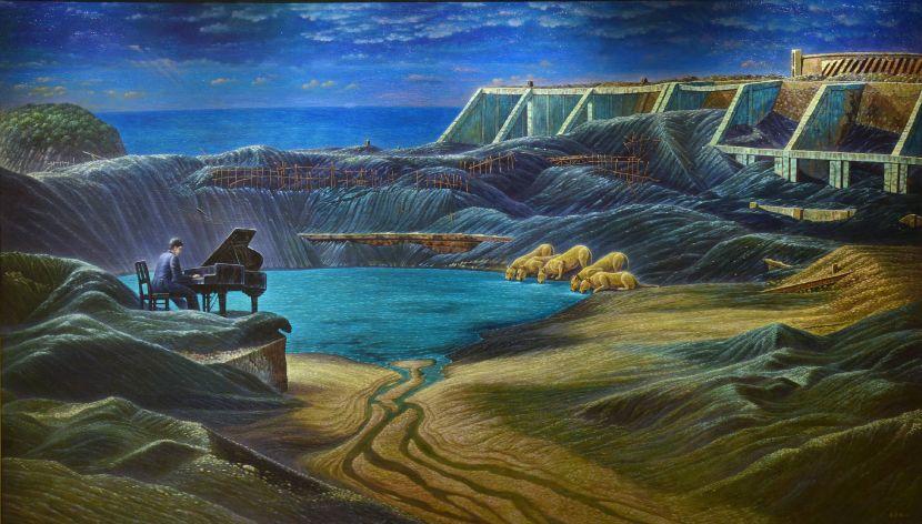 連建興-甘蜜湖畔的早唱