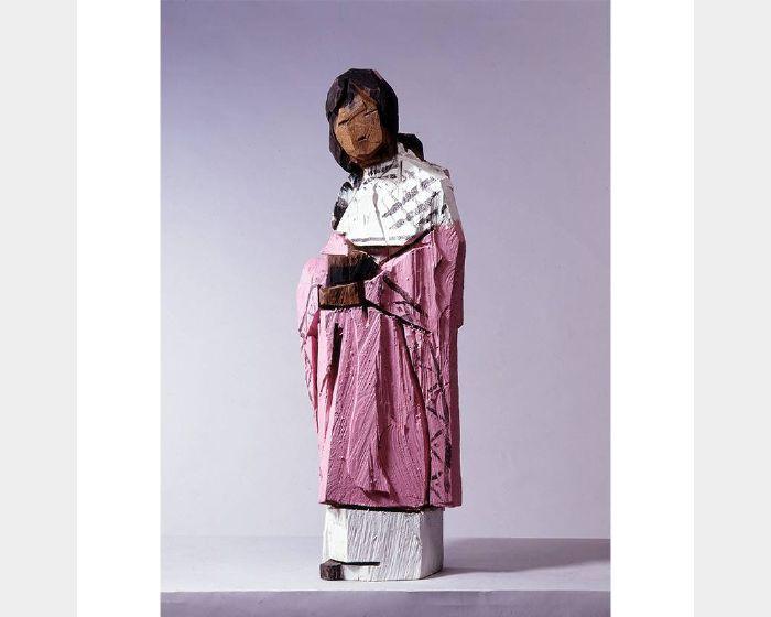 朱銘-彩木人間(親情)
