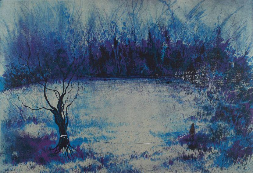 游雅蘭-牽著樹散步
