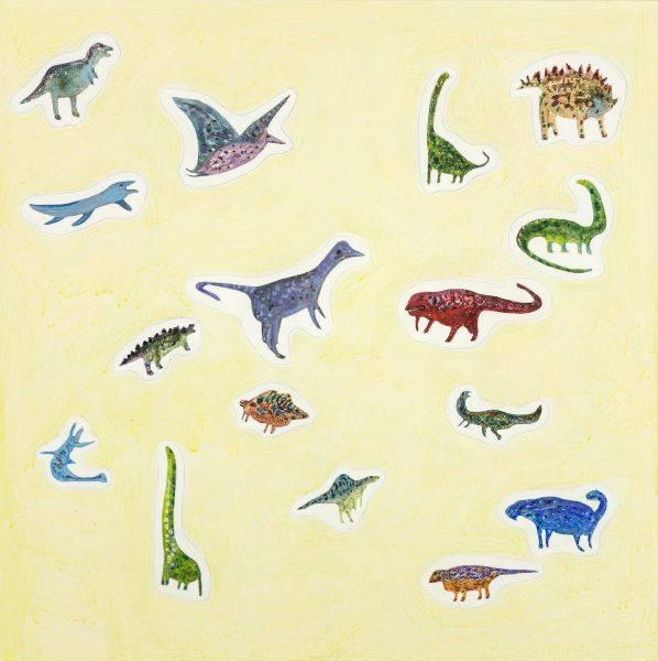 羅喬綾-恐龍貼紙