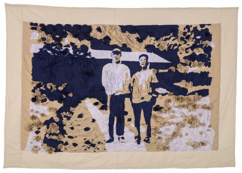 許家維-回莫村—壁毯