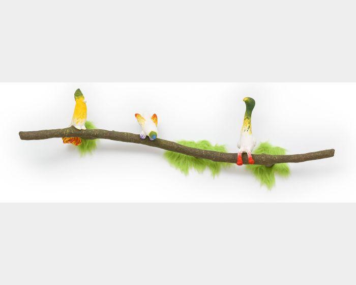 蔡潔莘-彩虹雨村落的鳥兒們 I