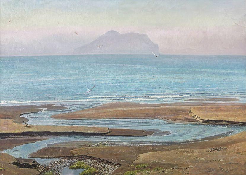 劉得浪-遠眺龜山島