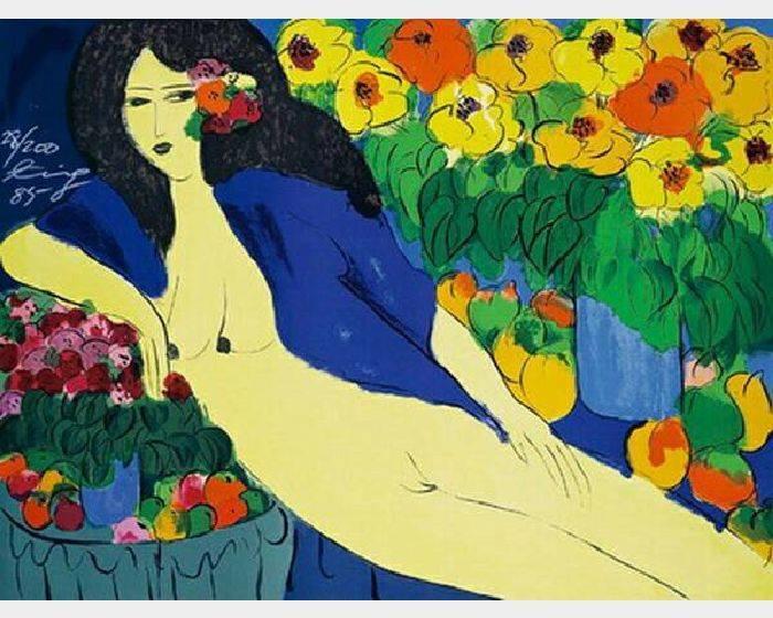 丁雄泉-黃皮膚女人