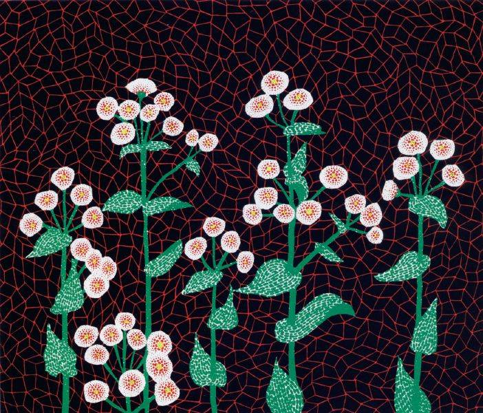 草間彌生-NO.87 花 (2) FLOWERS (2)