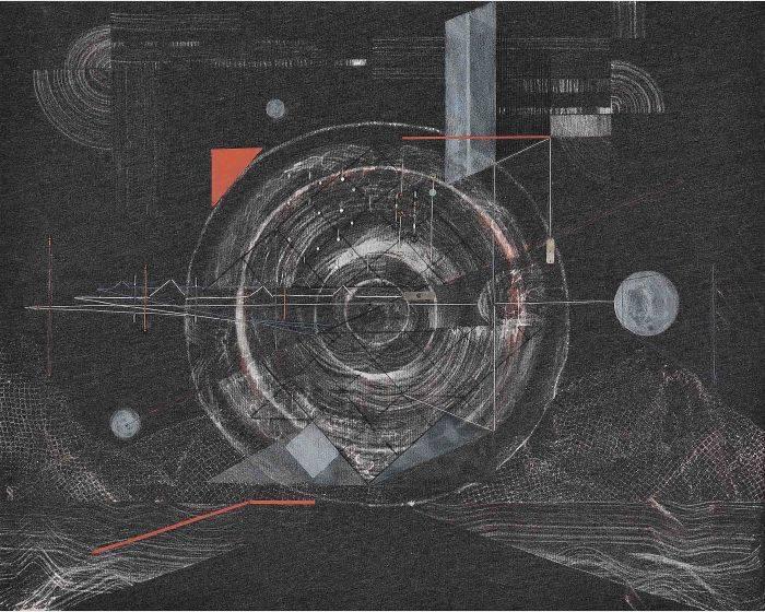 陳硯平-迴陣漫步  Wandering in Circles