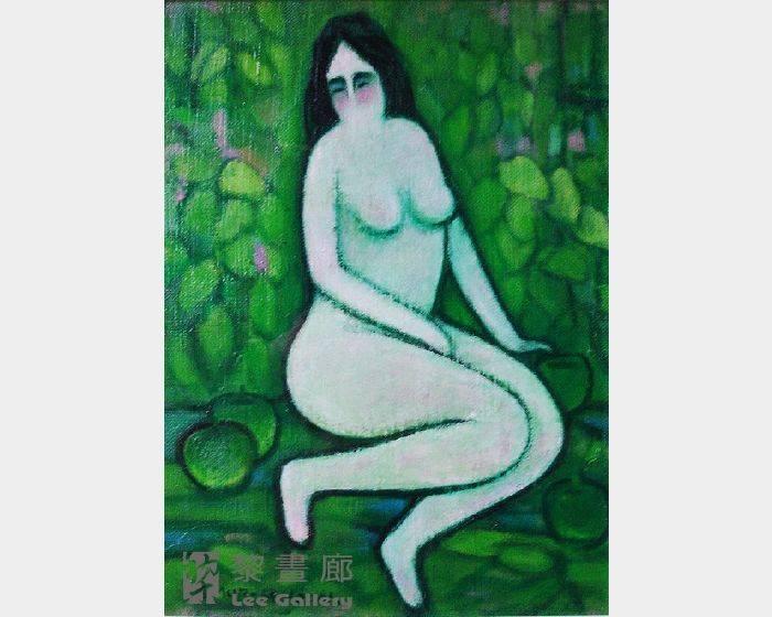 潘朝森-青蘋果與裸女