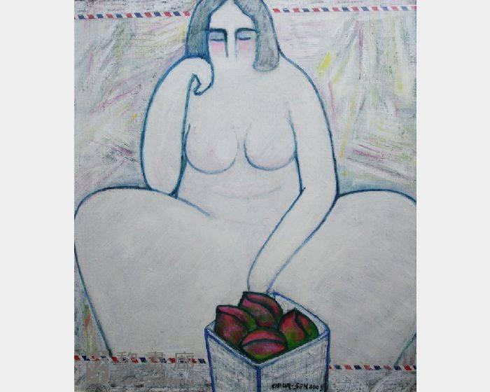 潘朝森-裸女蜜桃