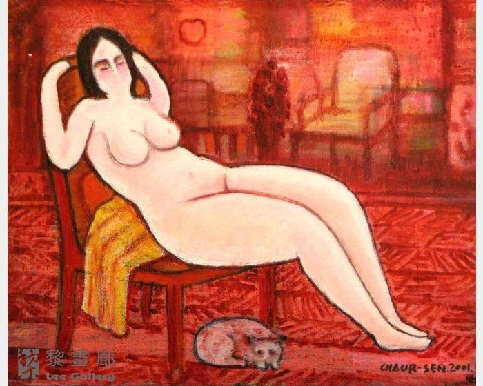 潘朝森-裸女 - 靜