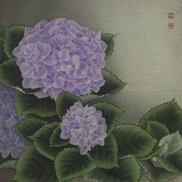 曾資婷-紫色繡球