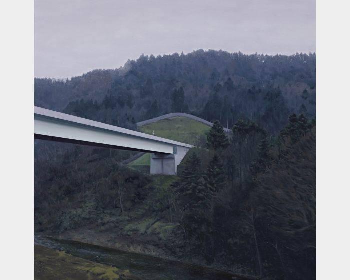 廖震平-山中的橋 bridge in mountain