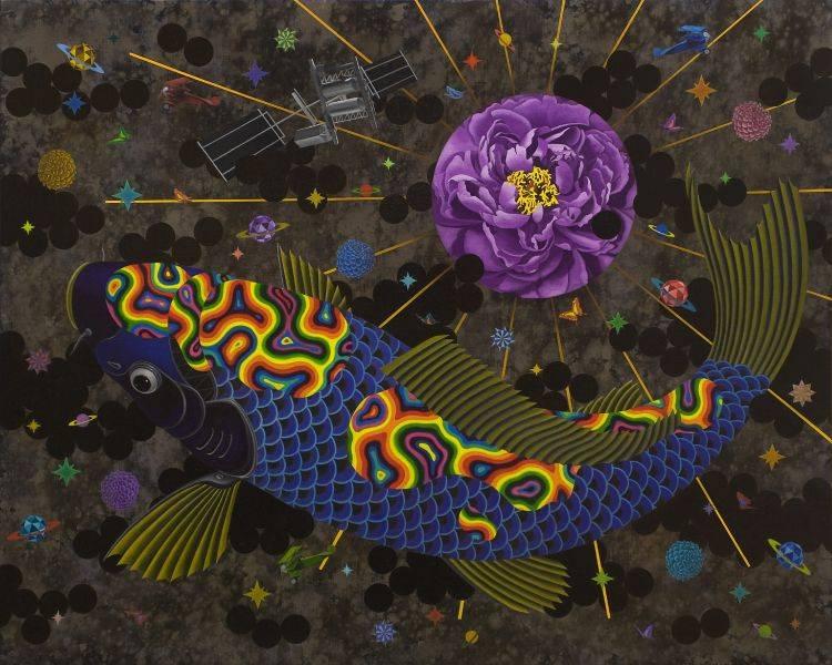 賴昱成-花花之道-鯉魚的飛行定律