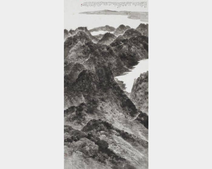 趙宇脩-一切世間樂見上大精進佛禪悅圖