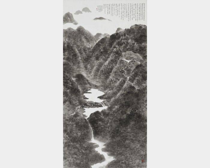 趙宇脩-多摩羅跋栴檀香佛行道圖