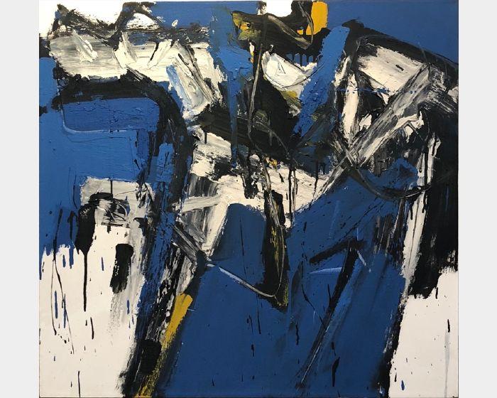 阿旺·達密·阿麥德-《日出靈光》藍色稻草人的憂鬱  GARISMEGA