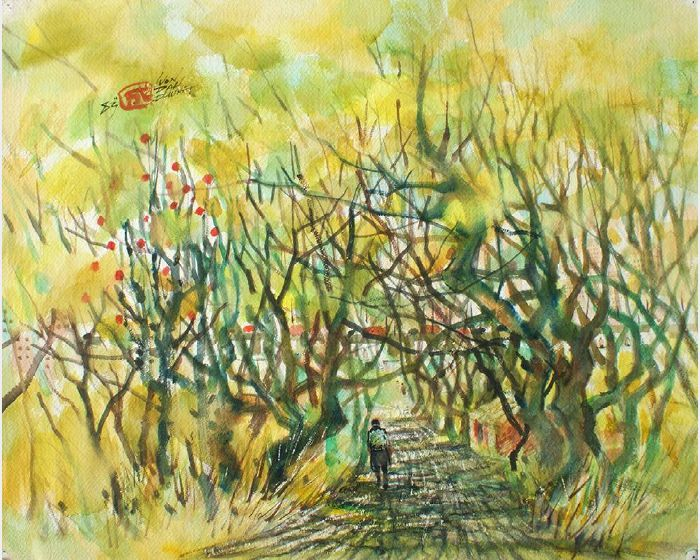 翁大成-樹林小徑