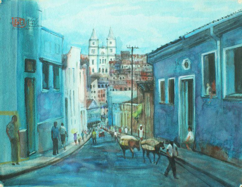 翁大成-巴西街頭