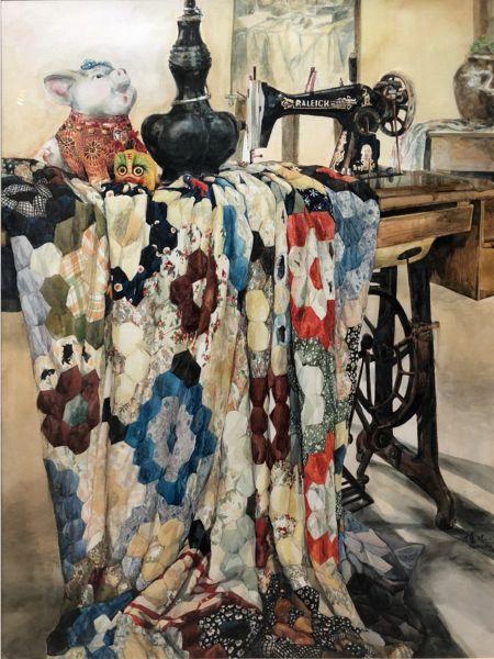 杜爾-阿媽的百納被  Grandma's Quilt