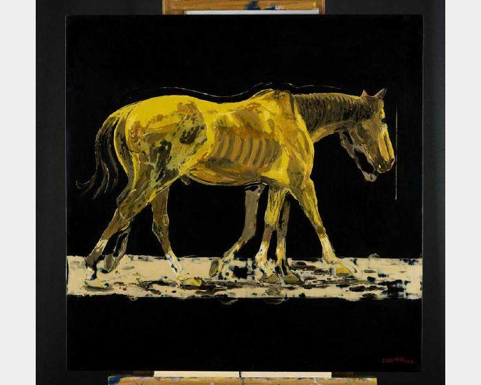 許坤成-馬  Horse