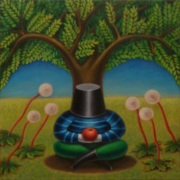 張瑞頻-蘋果樹下的沉思