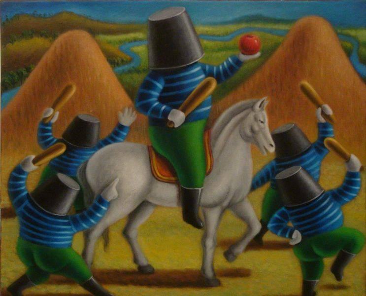 張瑞頻-水桶人國王