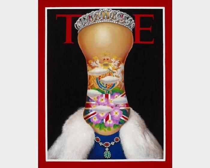張瑞頻-時代夫人TIME系列之一 TIME Lady 1