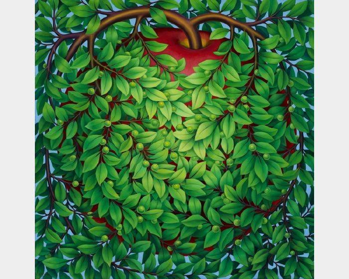張瑞頻-蘋果之二 Apple 2
