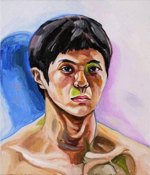 呂浩元-自畫像