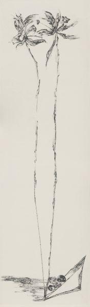 許雨仁-無題粗筆水墨系列之十七