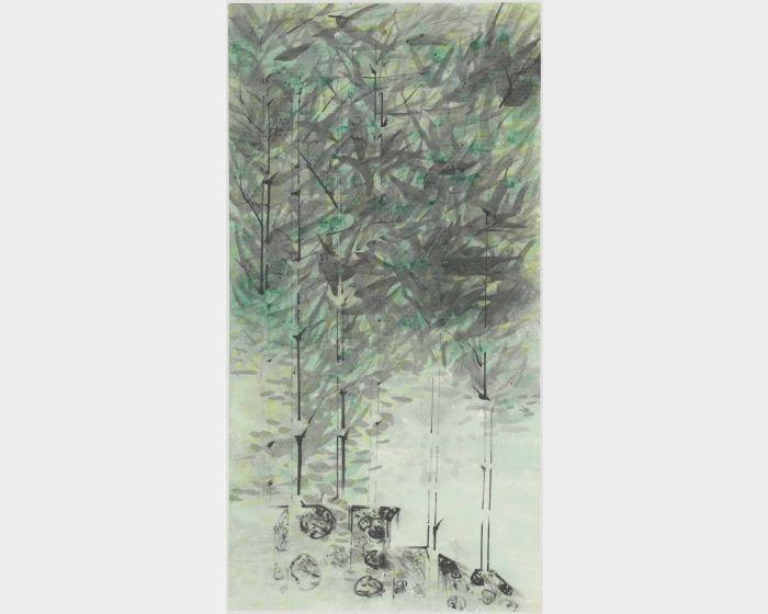 許雨仁-無題彩墨系列之五