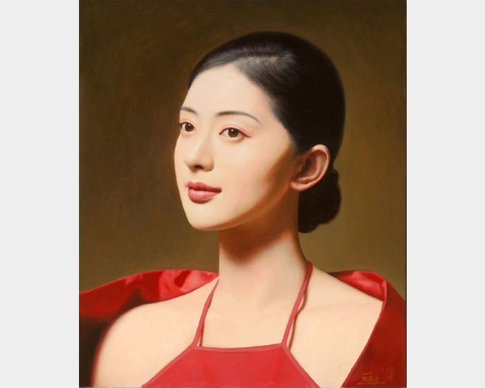 陳承衛-大民國-玫瑰香 Series on the Republic of China- A Fragrant Rose