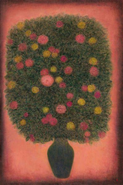 陳承衛-生命之花-3 Blossoms of Life-3