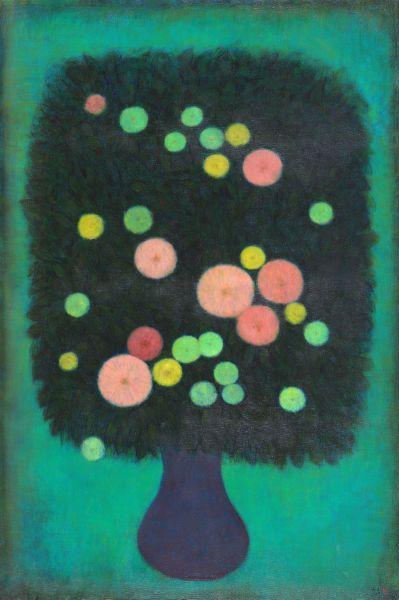 陳承衛-生命之花-9 Blossoms of Life-9