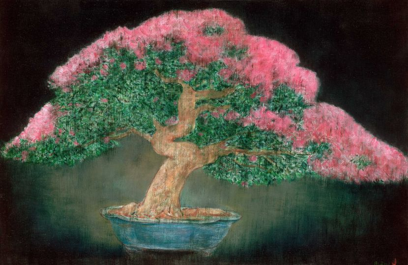 陳承衛-盆景-9 Landscape in a Bonsai Pot-9