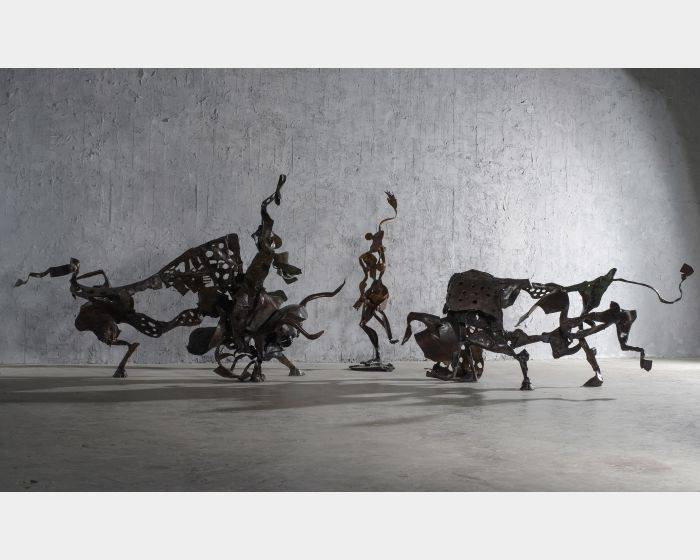 李光裕-《鬥牛系列》─機智的鬥牛士 Tactful Matador(L)、紅色情挑  Red Passion(M)、格蘭納達 Grenada(R)