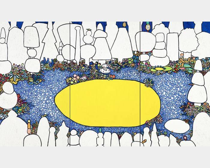 呂英菖-森林裡的許願池