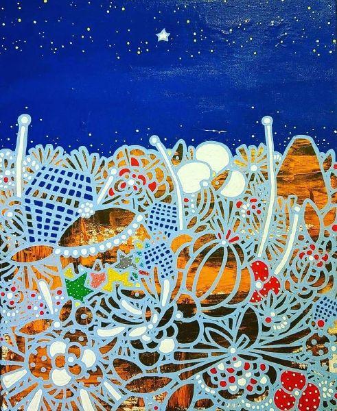 呂英菖-星空下的寶盒