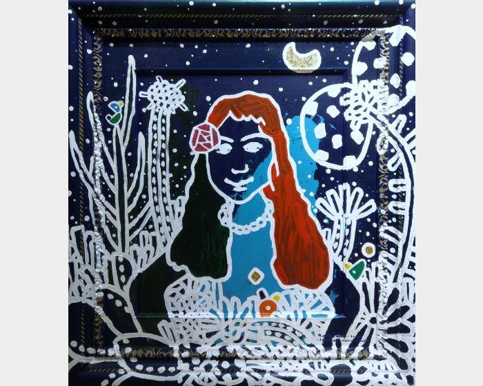 呂英菖-月光下的女孩The Girl In Moon Light